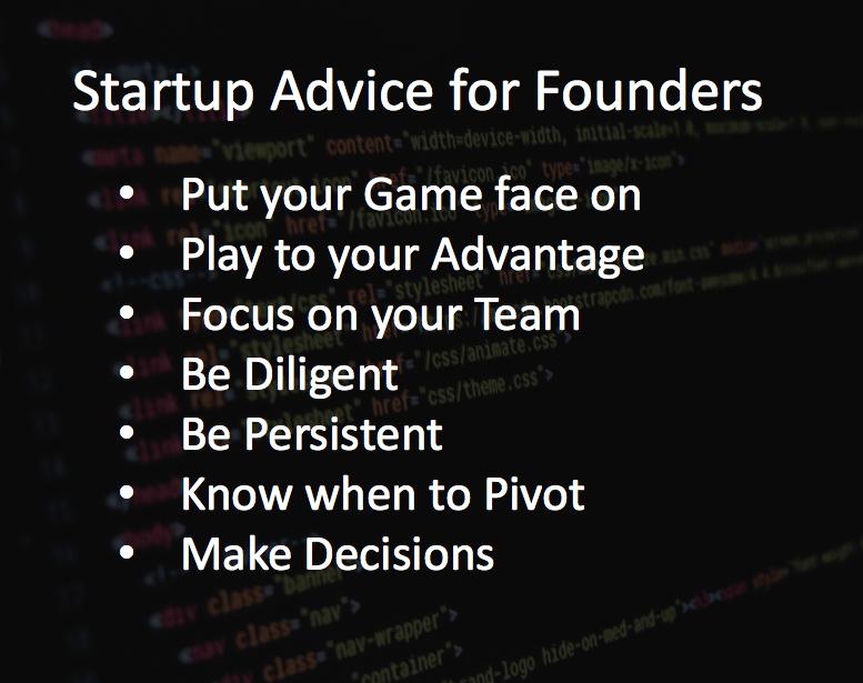 startup advice for founders shoutex zaki usman