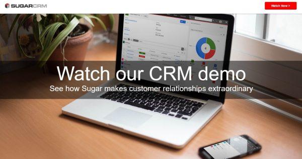 Startup CRM Software - SugarCRM