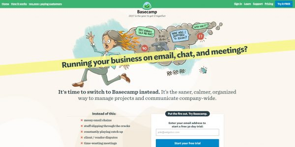 Project Management Tools-Basecamp